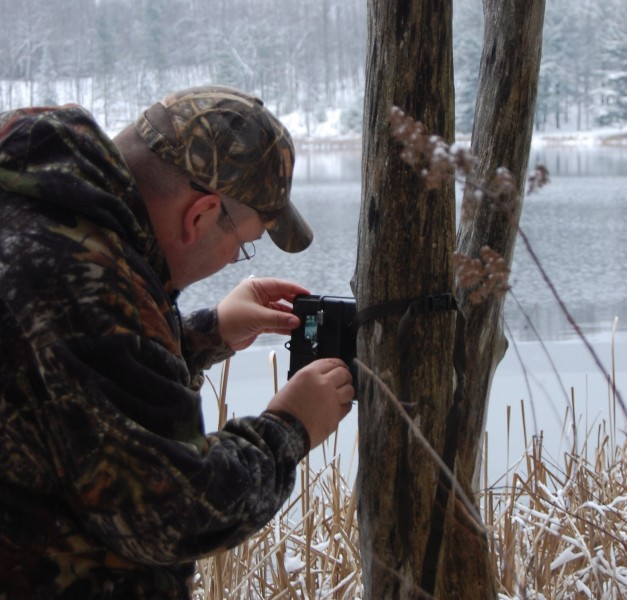 Trail cameras are good to use all year long to monitor deer activity.