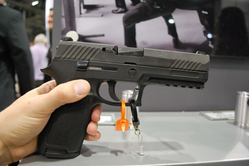 The Full-Size SIG P320 in 9mm.
