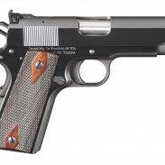 The Turnbill redesigned and updated custom 1911 Commander pistol.