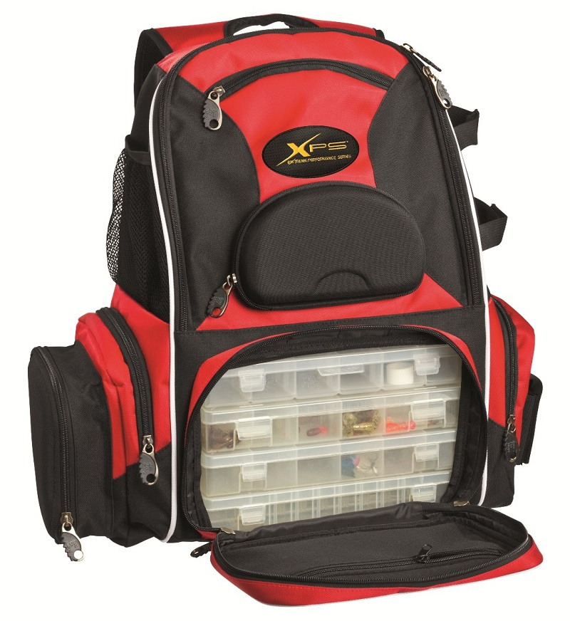 bass pro shops stalker backpack tackle system takes