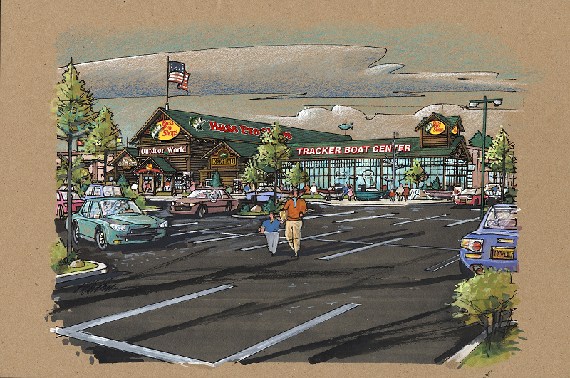 New Bass Pro Shop in Rocklin will serve 2 million area sportsmen and feature Uncle Buck's Fishbowl and Grill.