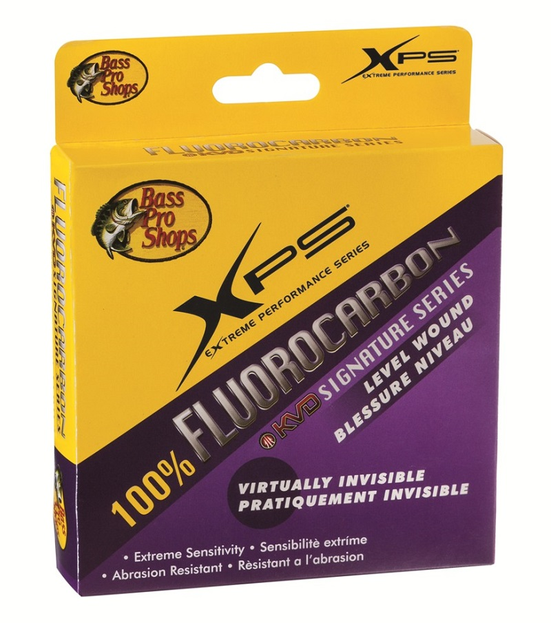bass pro shops xps kvd signature series fluorocarbon