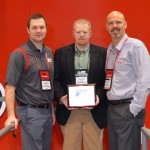 Crimson Trace Recognizes MidwayUSA as Elite Retailer of the Year at SHOT Show 2014.