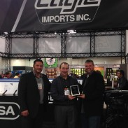 Eagle Imports awards Ellett Brothers for their excellent service to the Eagle Imports, Metro Arms, Bersa and Comanche Brands.
