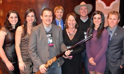 An Original Henry Rifle Deluxe Engraved .44-40 raised  $85,000 in support of the USA Shooting team.