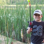 The secret to keeping a kid fishing? Sometimes it's catching a fish!