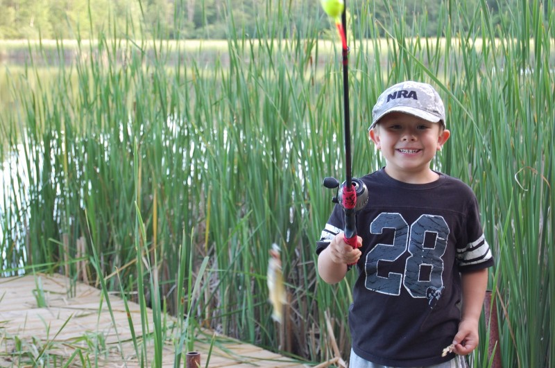 Keeping kids interested in the outdoors outdoorhub for Kids fishing net