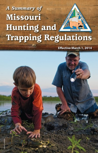 Missouri 39 s 2014 hunting trapping fishing summaries now for Age requirement for fishing license