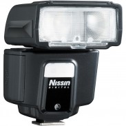 The Nissin i40 is a compact,  high performance, dial operation flash.