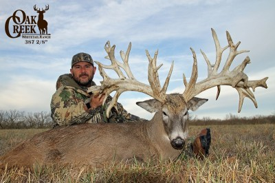 Oak Creek Whitetail Ranch offers hunt as an SCI auction item.