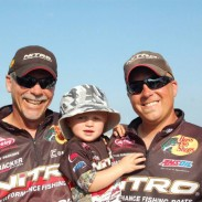"""I probably grew up in the best [fishing] family ever,"" said Chase Parsons (right) pictured with his son, Logan, and his father, Fishing Hall of Famer Gary Parsons."