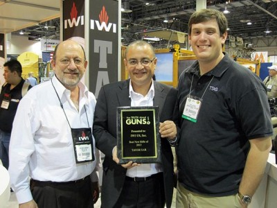 TheTruthAboutGuns.com awards IWI US the 2013 Reader's Choice Award for Rifle of the Year.