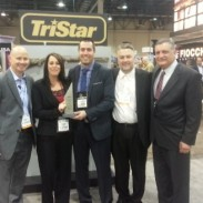 TriStar Arms presents Davidson's Inc. with award for Distributor of the Year.