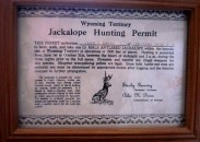 Her grand-dad never broke stride when telling of his jackalope adventures, so when Lisa Jane inherited his license a few years ago, she has continued with the tradition.