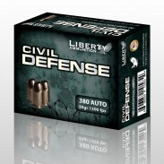 Civil Defense personal defense rounds in .380 Auto are shipping to distributors and retailers around the country.