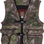 The Ol' Tom cotton vest in Realtree Xtra Green.
