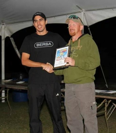 Gastón Quindi Vallerga beginning of the 2014 pistol competition season with a win at the Florida Open USPSA match.