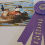 The 2014 California Junior Duck Stamp winner.