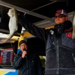 David Kilgore of Jasper, Ala., takes the lead on Day 1 of the Bass Pro Shops Bassmaster Southern Open presented by Allstate. Kilgore brought 19 pounds, 15 ounces of Smith Lake bass to the scales at Thursday's weigh-in.