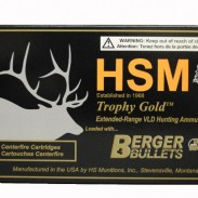 HSM ammunition trophy