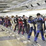 The U.S. Army Marksmanship Unit and International Rifle section hosted the 2014 U.S. Army National Junior Air Rifle Championship at Pool Indoor Range. More than 80 junior shooters from across the country competed in the event.