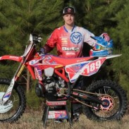 Justin Sode and his Factory Beta 250 RR.