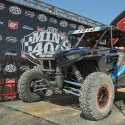Lonestar Racing / ITP pilot Branden Sims used ITP Ultracross tires on his Polaris SxS to earn third place on the 1900P class podium at the BITD Mint 400 race in Nevada.
