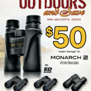 Nikon Get Outdoors poster