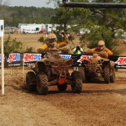 At the second round of the AMSOIL GNCC series in Georgia, Can-Am Renegade 800R X xc racer Jordan Phillips narrowly edged fellow Can-Am racer Bryan Buckhannon at the finish for the 4x4 Pro class win.