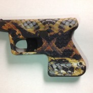 Heaizer's special edition PS1 Pocket Shotgun Pistol in rattlesnake.