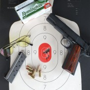 The 9x19mm Springfield Armory Range Officer acquitted itself well at the range, producing groups just over two inches at 10 yards.