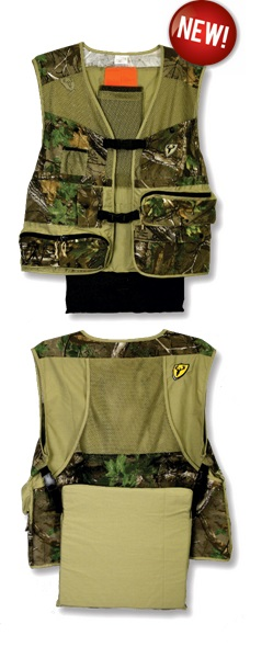 Scentblocker's new Torched Turkey Vest.