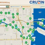 Cruzin's places to boat and fish map now enhanced with the help of Takemefishing.com.
