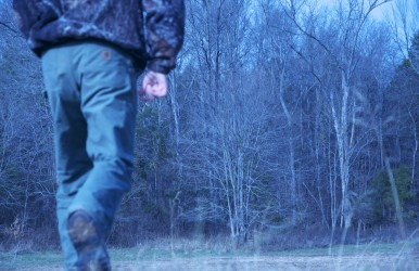 For serious turkey hunting training, few things beat going for an old-fashioned woods run.