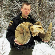 These found horns have a shot at becoming the new bighorn world record.