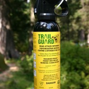 A can of bear spray came in handy when burglars invaded one Washington home.