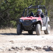 The Polaris RZR 570 is a fun, capable trail machine for you and a passenger.