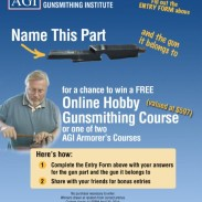 "The AGI ""Name This Part (and the Gun it Belongs To) Contest Begins Tuesday, April 1st, 2014."