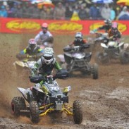 Riding with ITP Holeshot GNCC tires, Angel Knox grabbed the WXC (Women's Premier) class holeshot and never looked back, winning the class at a soggy Steele Creek GNCC in North Carolina.