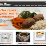 CanCooker website in French