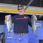 Danny Murphy, of Granite Falls, N.C., takes the lead on Day 1 of the B.A.S.S. Nation Southern Divisional on Lake Eufaula by taking advantage of the early bite.