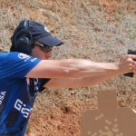 GASTON J. GLOCK style LP sponsored shooter Dave Sevigny.