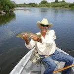 Doug Gibson earned a lifetime achievement award from Orvis.
