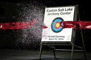The Salt Lake Easton Archery Centre is now open.