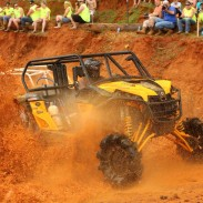 Maverick 1000R racer Steve Hittle Team Gorilla Powered by Can-Am) won the Mud Bog RUV class, notching the first side-by-side overall victory for Can-Am at Mud Nationals.