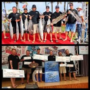 Last year's winners of the Saltwater Shootout.