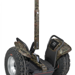 The Segway  the i2 and x2 are Mossy Oak Break-Up Infinity camouflage.
