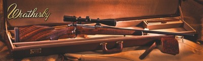 Win a Weatherby rifle at the NRA show.