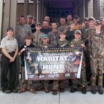 Youth hunters, their NWTF mentors and Savannah National Wildlife Refuge staff work to Save the Habitat. Save the Hunt.