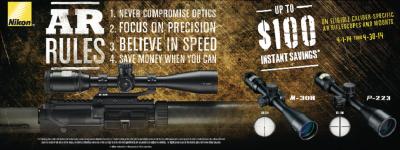 Nikon AR Rifle Promo